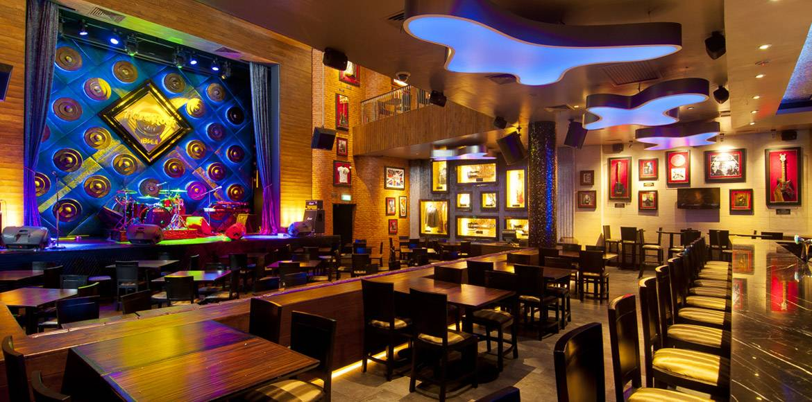 Hard Rock Cafe Hamburg Interior