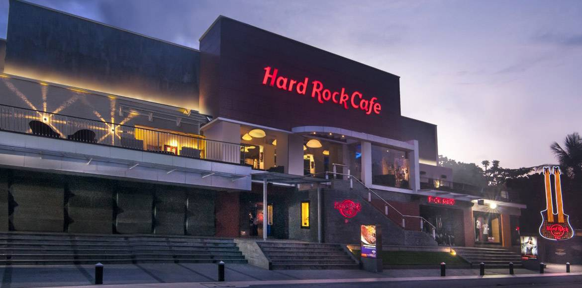 Dining At Hard Rock Cafe Bali - Map of hard rock cafes in the us