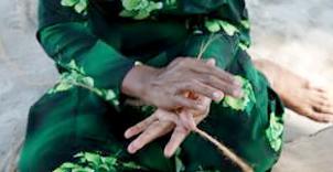 椰综绳编织