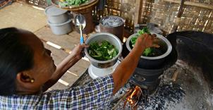 缅甸炉具活动