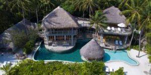 Soneva Fushi Villa Suite 4 Bedroom with Pool