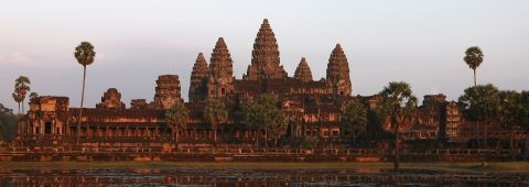 Luxurious flight service to Angkor Wat, Cambodia