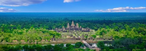 Luxurious flight service to Angkor Wat, Cambodia