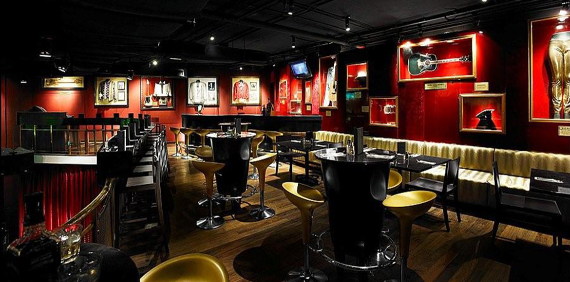 Hard Rock Cafe Penang on small restaurant interior design ideas