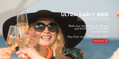 Ultra Early Bird Promotion