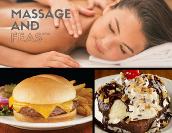 MASSAGE 'N' FEAST