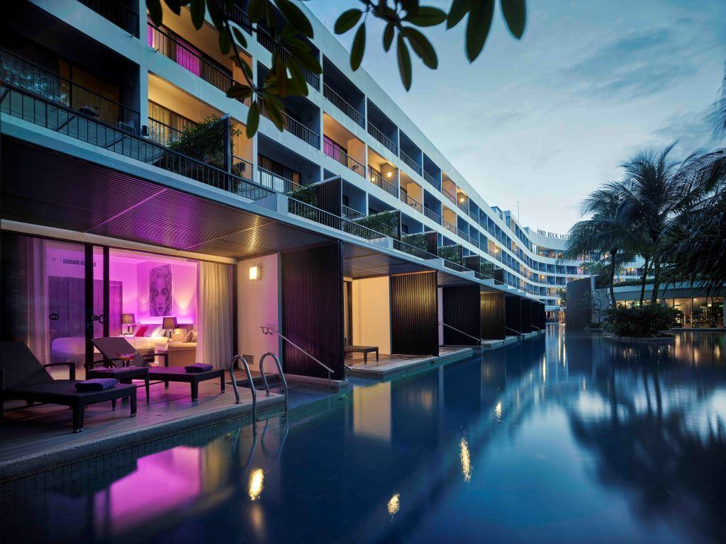 Penang Accommodation At Hard Rock Hotel Penang Hotel