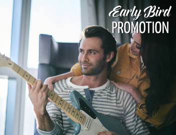 EARLY BIRD PROMOTION 捷足先登优惠