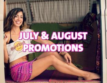 July & August Rock Shop Promotions