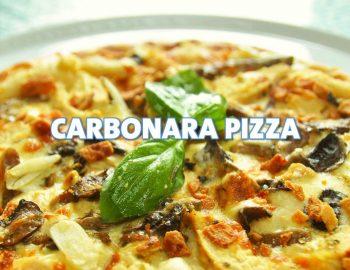 CARBONARA PIZZA 12'