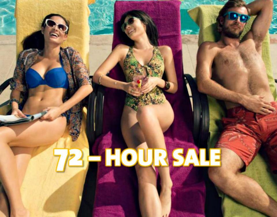 72 HOUR SALE NEW