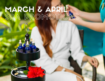 March & April 2017 Spa Promotions