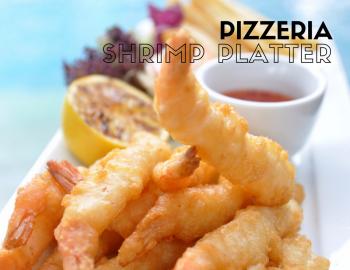 Pizzeria Shrimp Platter