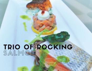 Trio Of Rocking Salmon