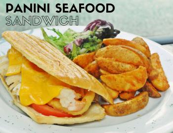 Panini Seafood Sandwich