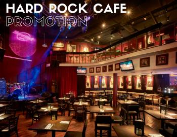 Hard Rock Cafe Promotion