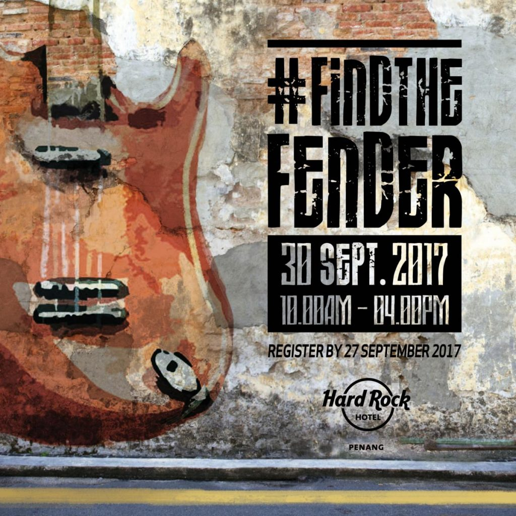 Find The Fender Poster 2017-03 square