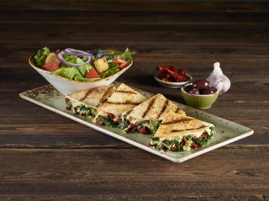 HRC_Vegetarian_LTO Grilled Hummus quesadilla