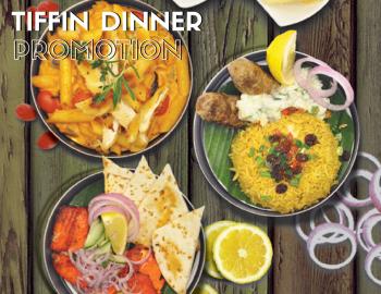 Tiffin Dinner Promotion