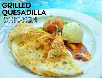 Grilled Quesadilla Chicken
