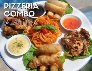 Pizzeria Combo Platter