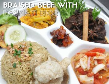 Braised Beef with Basmati Rice