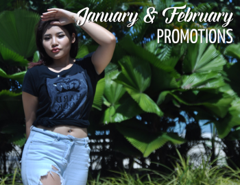 Jan & Feb Rock Shop Promotions