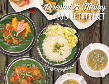 Oriental & Malay Cuisine Tiffin Set