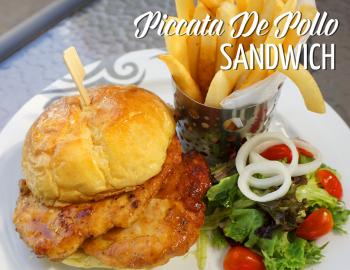Piccata De Pollo Sandwich