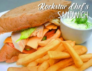 Rockstar Chef's Sandwich