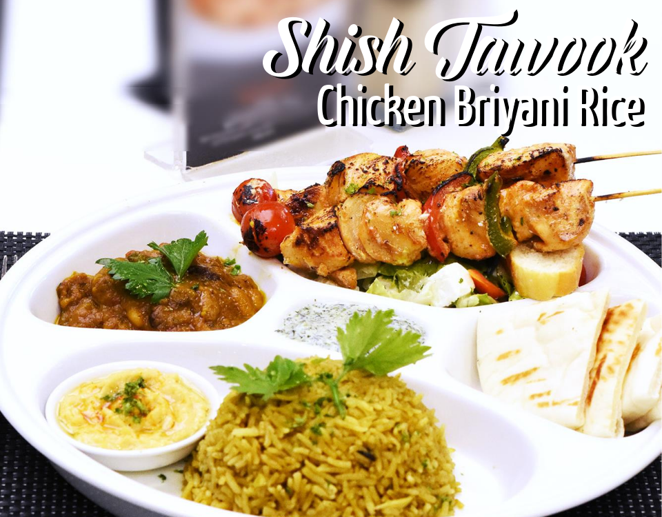 Shish Tawook Chicken Briyani Rice