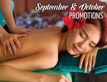 September & October Rock Spa Promotions