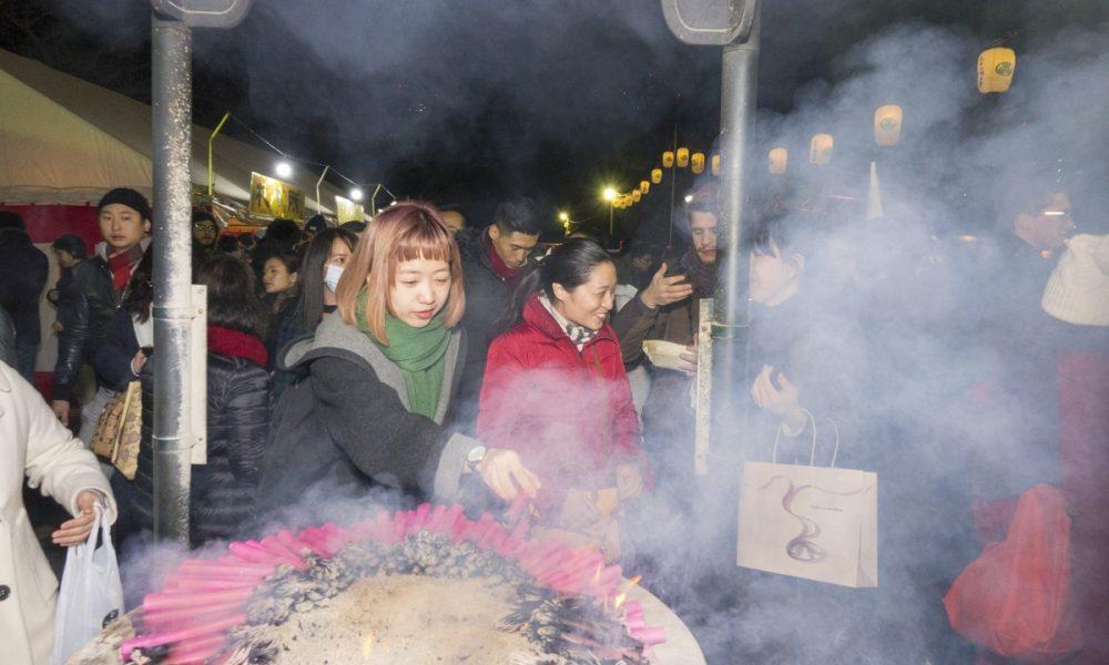 New year visit to zojoji temple