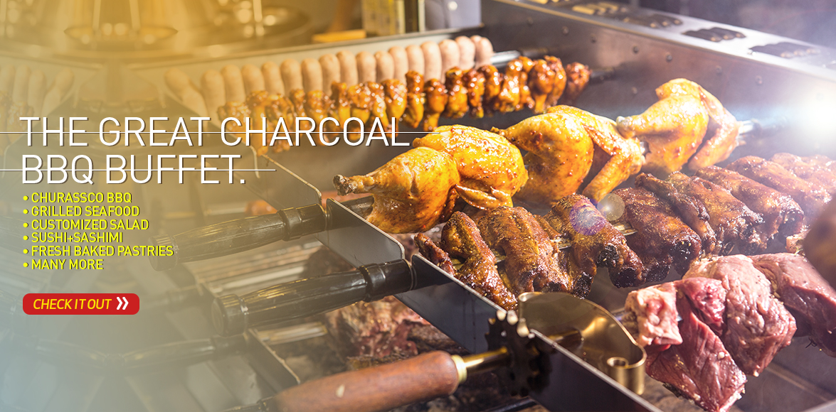 The Great Charcoal BBQ Buffet