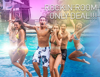 ROCKIN' ROOM ONLY DEAL (FROM THB 2,548)
