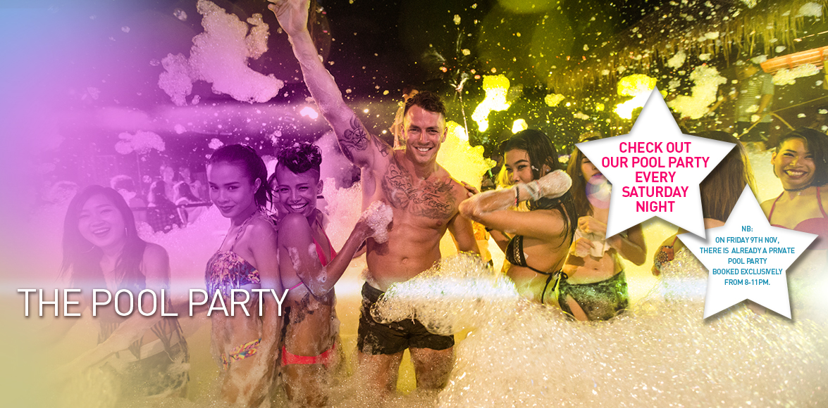 Pool Party Slider Banner