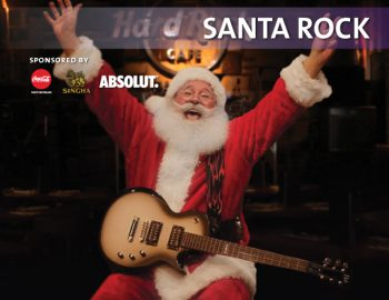 Santa Rock at Hard Rock Cafe Pattaya