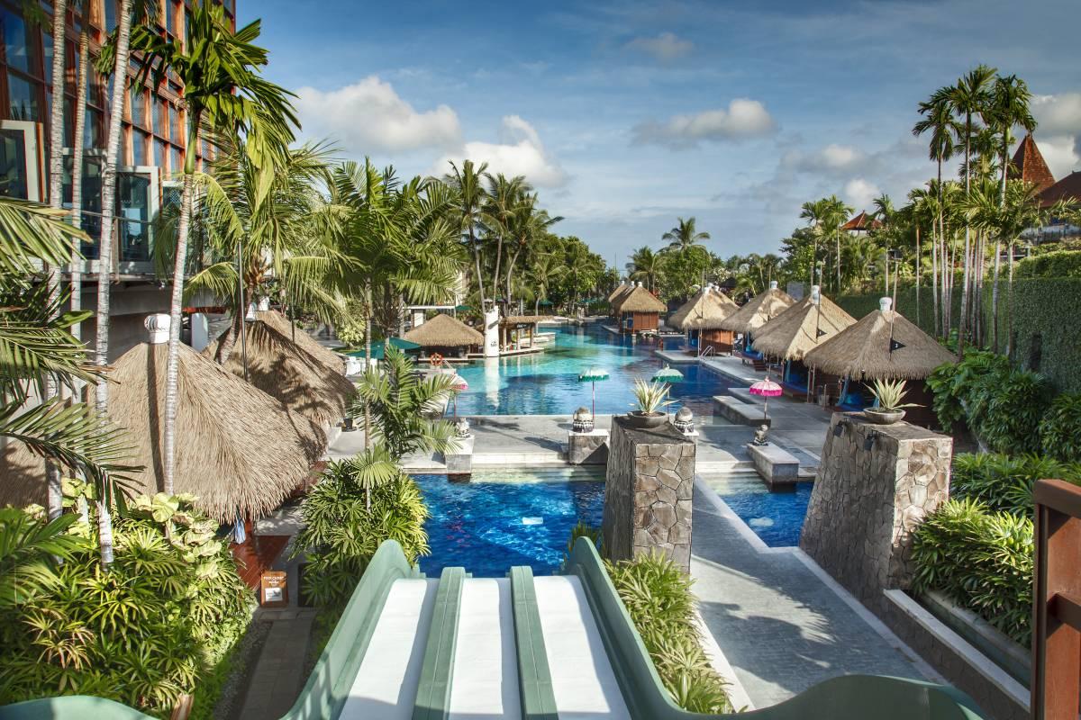 Swimming Pools At Hard Rock Hotel Bali Hotel Bali