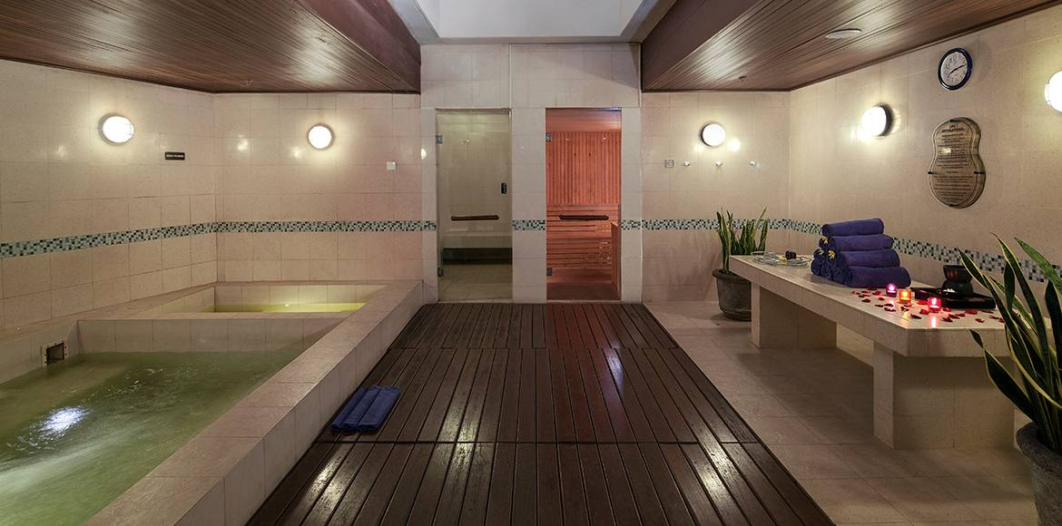 Hard Rock Hotel Bali Sauna Room