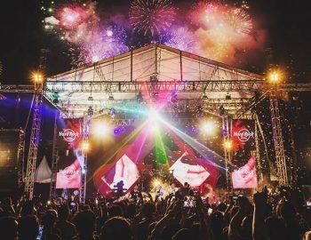 New Year's Eve At Hard Rock Hotel Bali