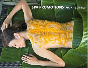 MARCH & APRIL SPA PROMOTIONS
