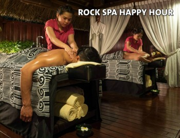 ROCK SPA HAPPY HOUR!