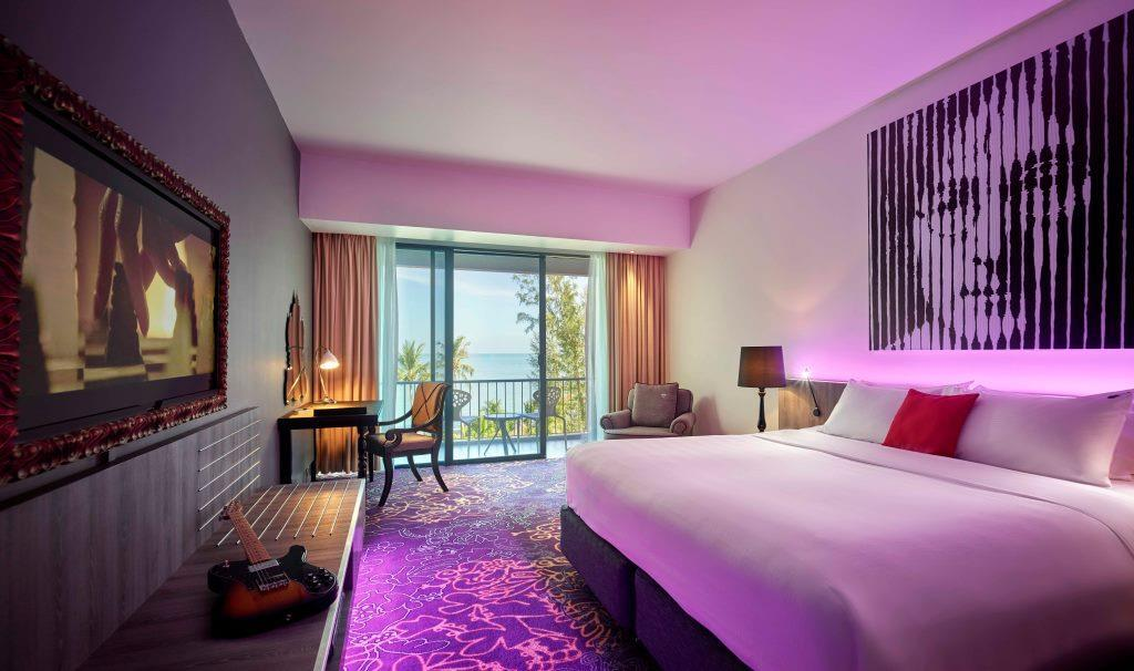 Seaview Deluxe Rooms At Hard Rock Hotel Penang Penang Hotel