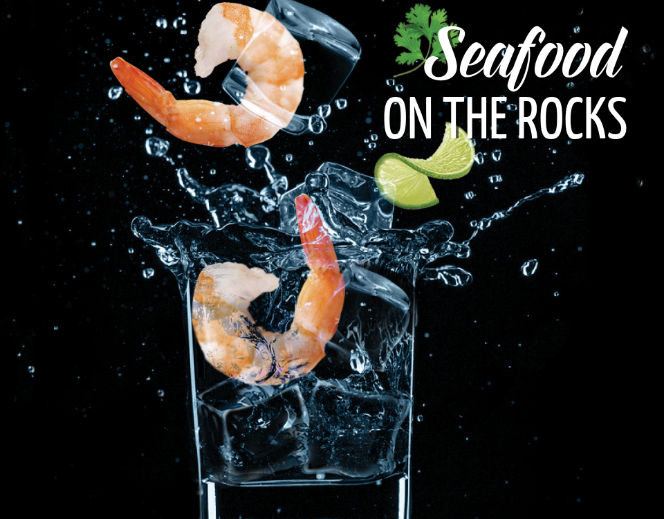 Seafood On The Rocks