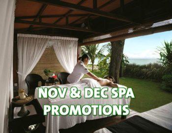 November & December Spa Promotions