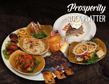 Prosperity Rock Platter