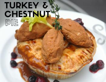Turkey & Chestnut Pie