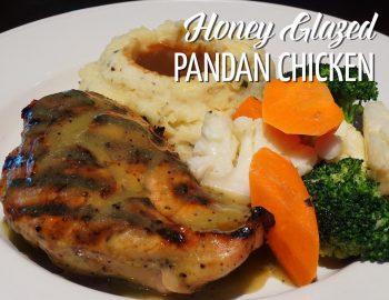 Honey Glazed Pandan Chicken