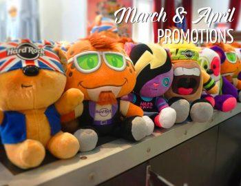 March & April Rock Shop Promotion