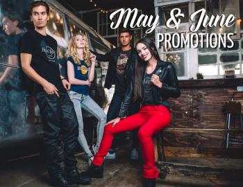 May & June Rock Shop Promotion